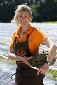 Christina Lange vom Bauernhof auf der Insel Rügen