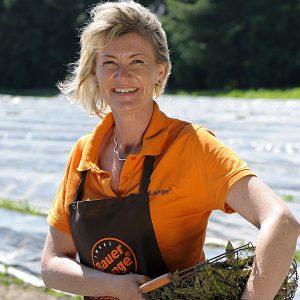 Christina Lange vom Bauernhof in Lieschow bei Ummanz auf Rügen