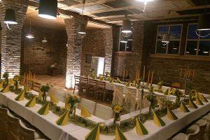 Raum für Firmenfeiern bei Bauer Lange auf der Insel Rügen