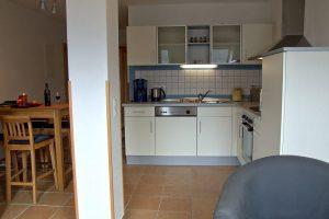 Fewo-Küche auf dem Bauernhof von Bauer Lange in Lieschow bei Ummanz auf Rügen
