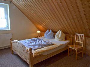 Schlafzimmer in der Unterkunft von Bauer Lange in Lieschow bei Ummanz auf Rügen