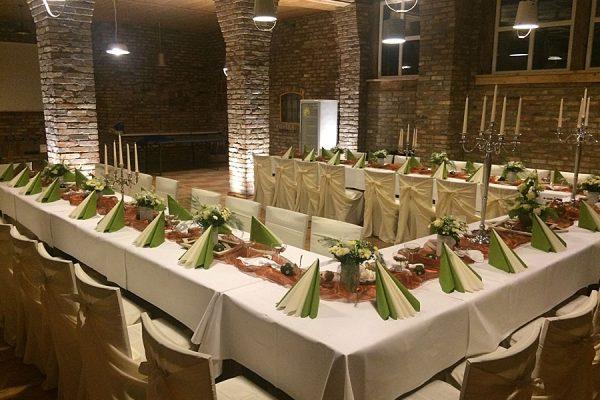 Firmenfeier veranstalten im Restaurant von Bauer Lange in Lieschow auf Rügen
