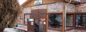 """Restaurant """"Zur Scheune"""" auf dem Bauernhof Lange in Lieschow auf Rügen"""