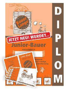 Diplom Juniorbauer vom Bauernhof Lange in Lieschow auf Rügen