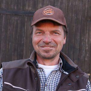 Bauer Thomas Lange vom Bauernhof in Lieschow auf Rügen